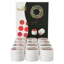 Set 12 Gel UV Color - Lila Rossa Red Series