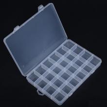 Cutie din plastic cu 24 compartimente