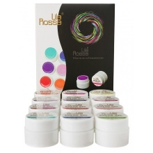Set 12 Gel UV Color - Lila Rossa Neon Series