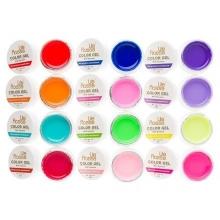 Set 12 Gel UV Color - Lila Rossa Neon Series