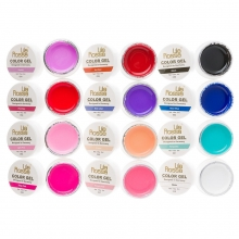 Set 12 Gel UV Color - Lila Rossa Pure Colors