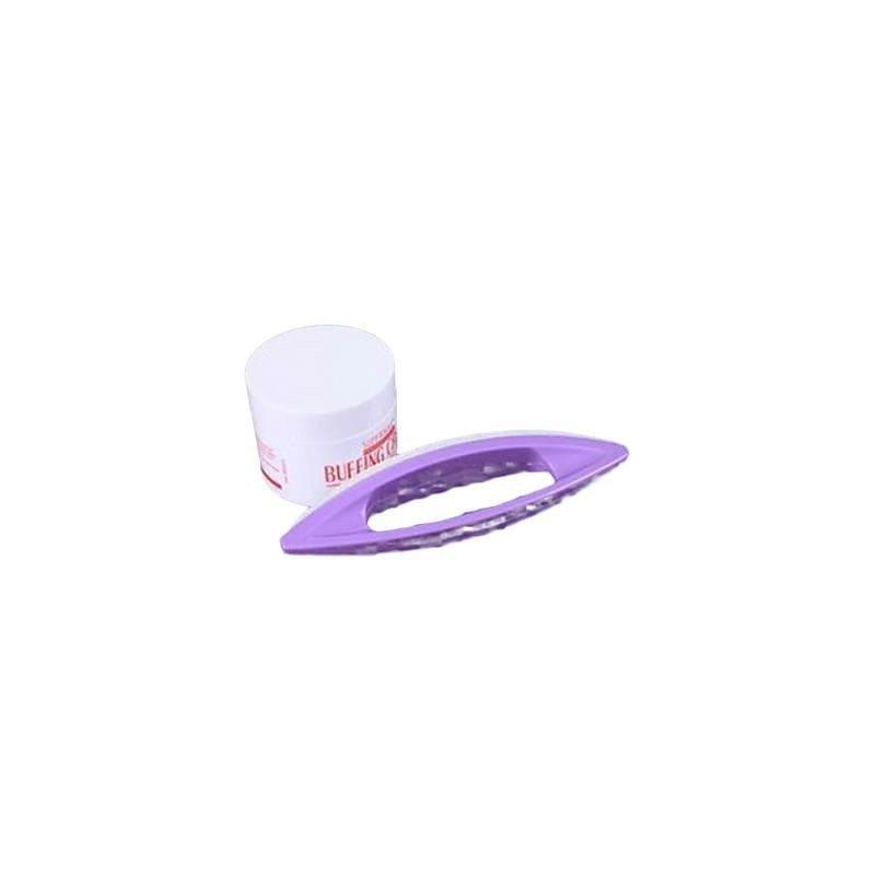Set pentru luciu unghii - Buffing Cream + Pila
