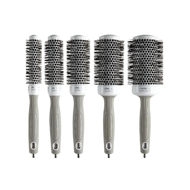 Set 5 perii pentru par Thermal Brush C+I Olivia Garden