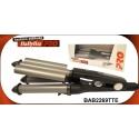 Ondulator de par triplu BaByliss 22-19-22mm 125W