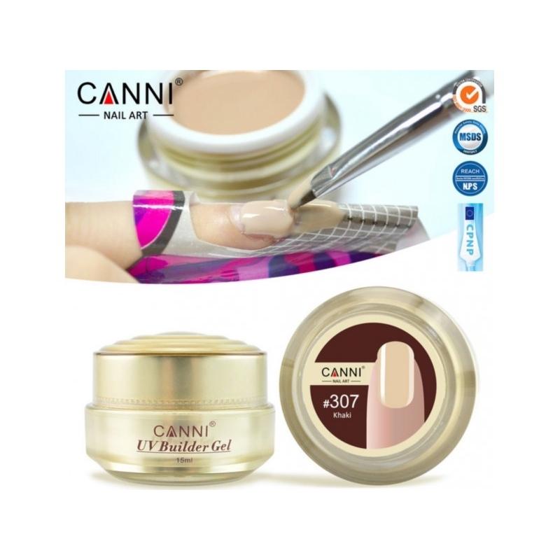 Gel UV de Constructie CANNI 15G khaki 307
