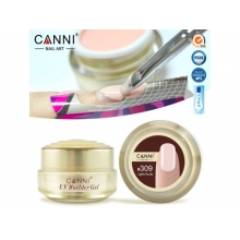 Gel UV de Constructie CANNI 15G light nude 309