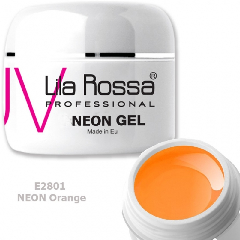 Gel UV color Lila Rossa Neon 5 g E28-01