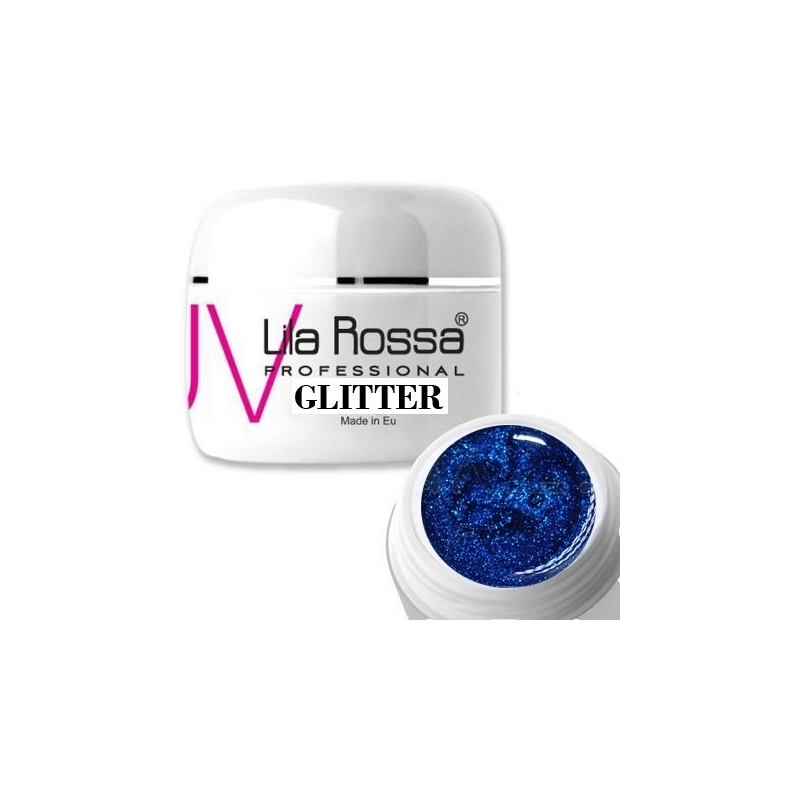 Gel uv color Lila Rossa GLITTER 5 g E24-05