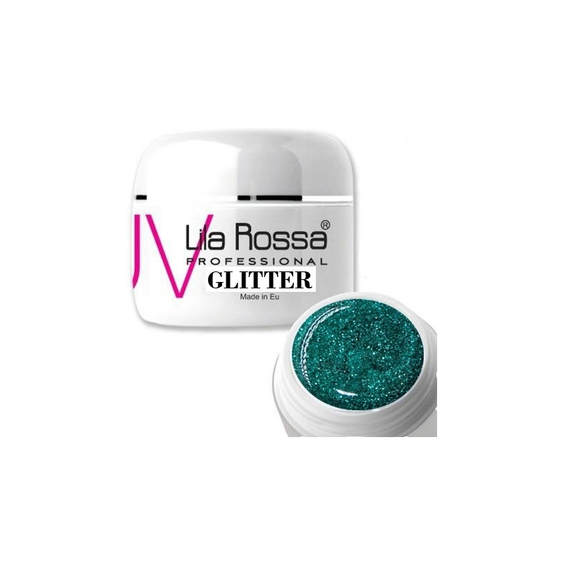 Gel uv color Lila Rossa GLITTER 5 g E24-06