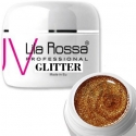 Gel uv color Lila Rossa GLITTER 5 g E24-08