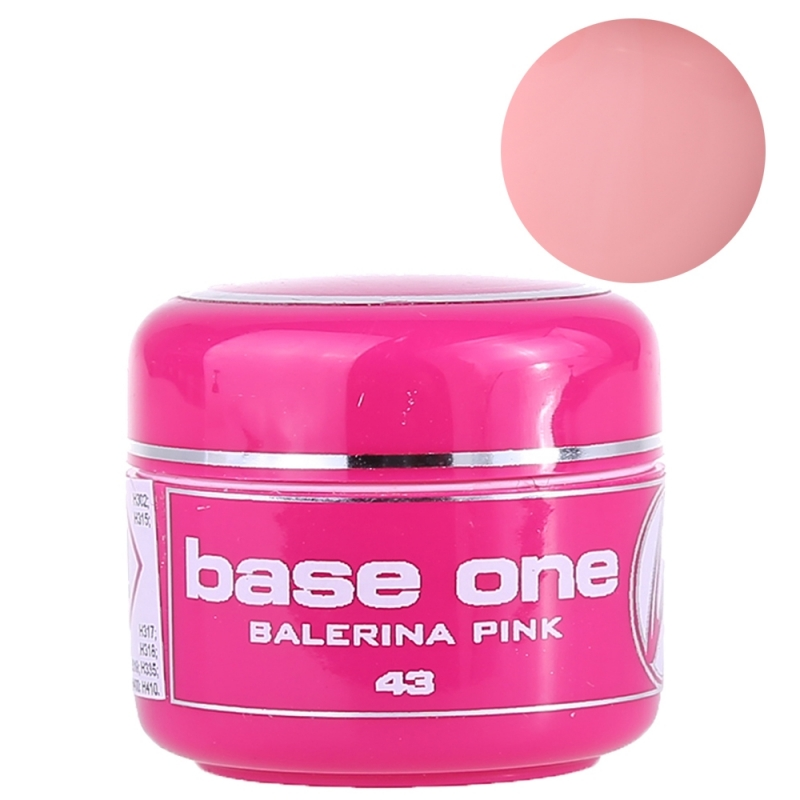 Gel UV Color Base One 5 g Balerina Pink 43