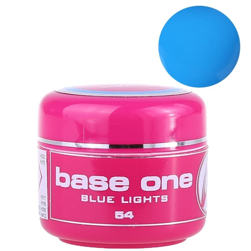 Gel UV Color Base One 5 g Blue Lights 54