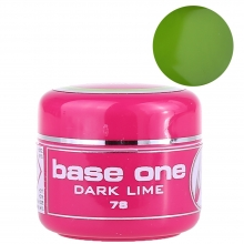 Gel UV Color Base One 5 g Dark Lime 78