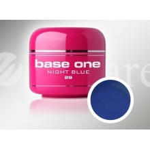 Gel Uv Color Base One 5 g Night Blue 29