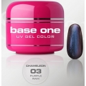 Gel UV Color Base One 5 g chameleon purple-rain 03