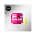 Gel UV Color Base One 5 g Pastel yellow-01