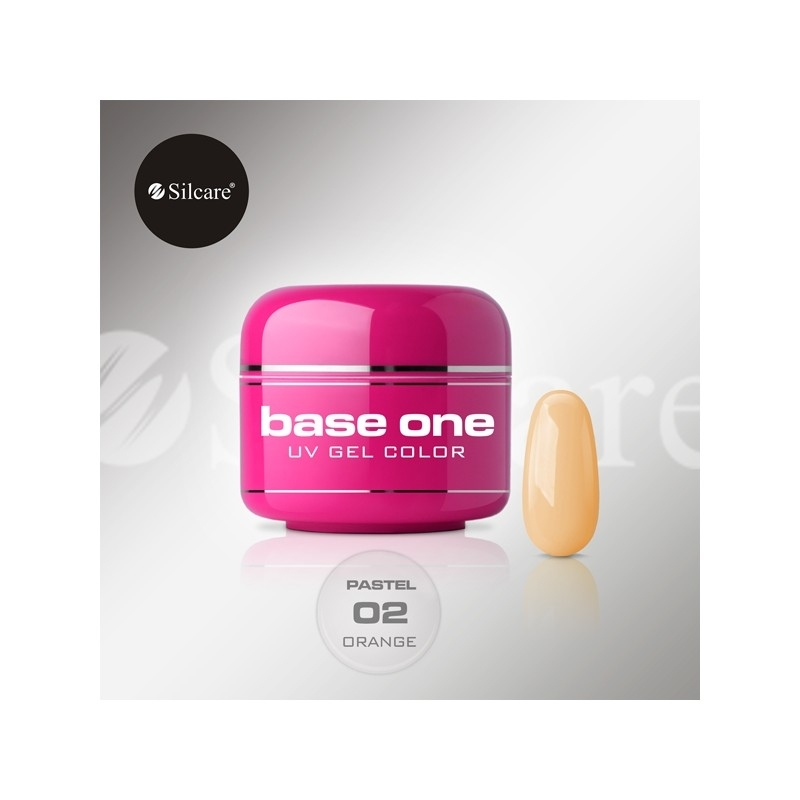 Gel UV Color Base One 5 g Pastel orange-02