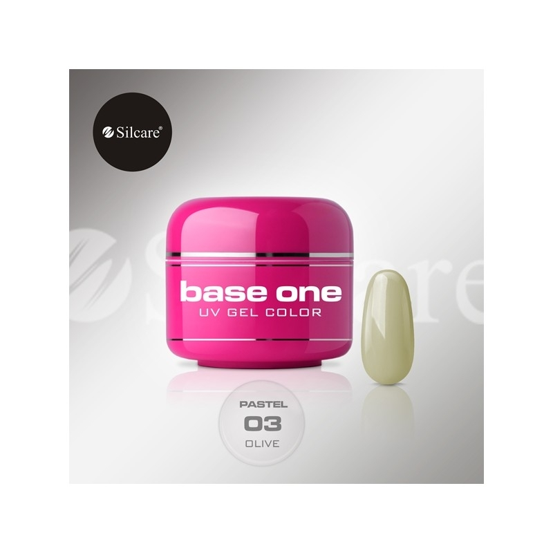 Gel UV Color Base One 5 g Pastel olive-03