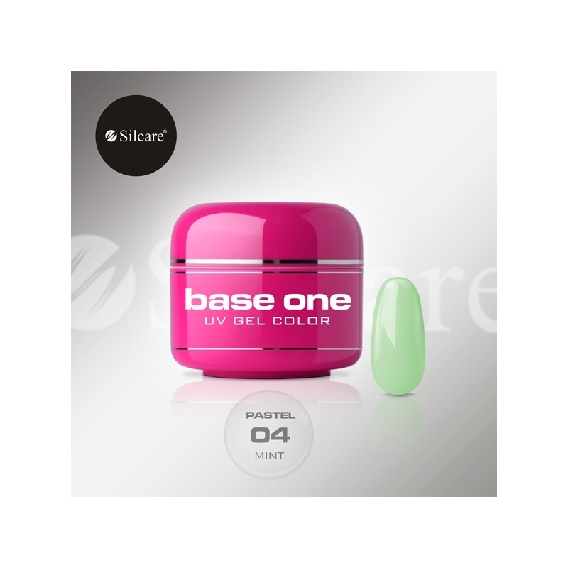 Gel UV Color Base One 5 g Pastel mint-04