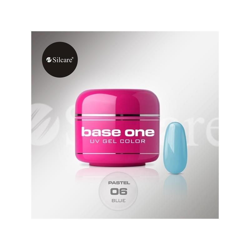 Gel UV Color Base One 5 g Pastel blue-06