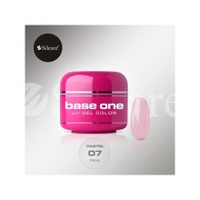Gel UV Color Base One 5 g Pastel pink-07