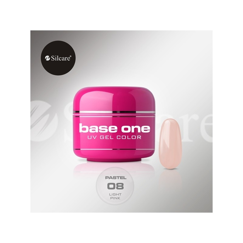 Gel UV Color Base One 5 g Pastel light-pink-08