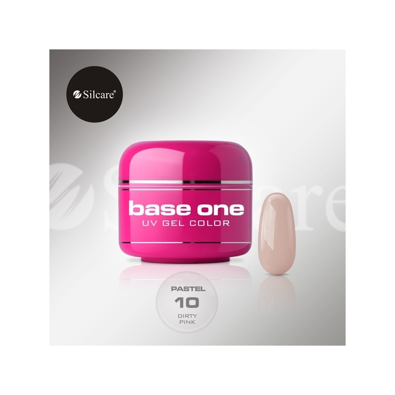 Gel UV Color Base One 5 g Pastel dirty-pink-10