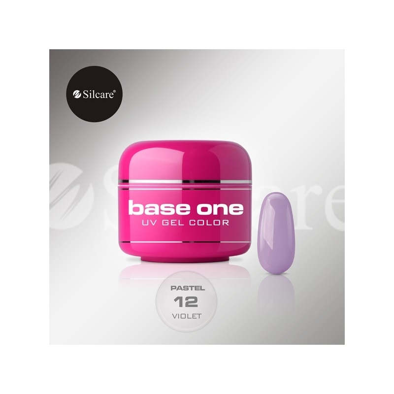 Gel UV Color Base One 5 g Pastel violet-12