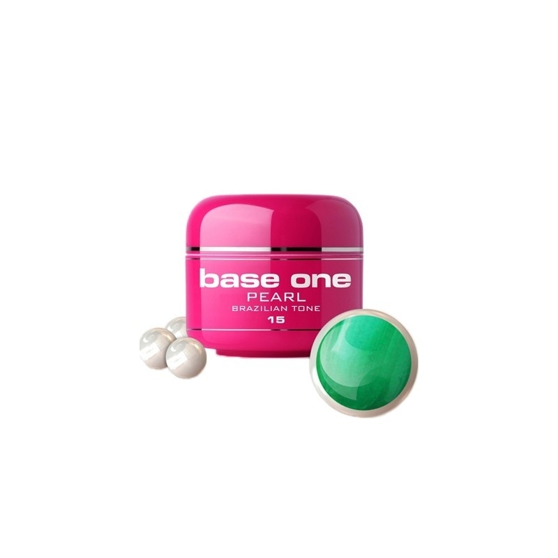 Gel UV Color Base One 5 g Pearl brazilian-tone-15