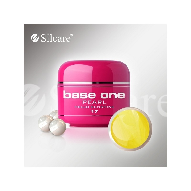 Gel UV Color Base One 5 g Pearl hello-sunshine-17