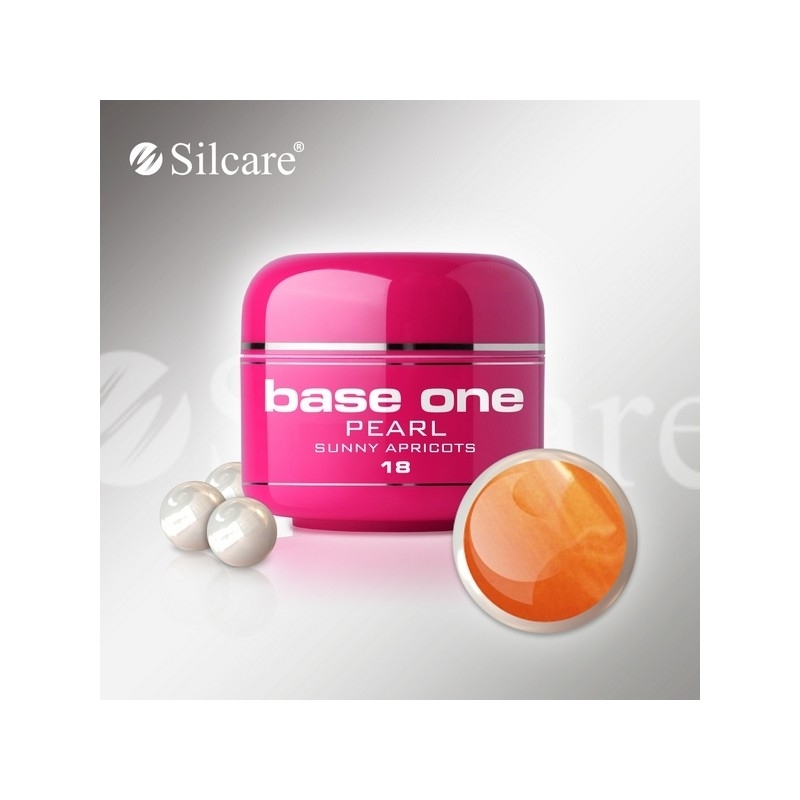 Gel UV Color Base One 5 g Pearl sunny-apricots-18
