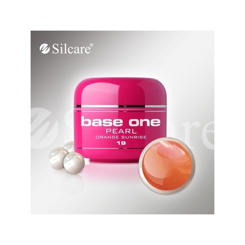 Gel UV Color Base One 5 g Pearl orange-sunrise-19