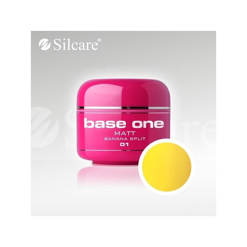 Gel UV Color Base One 5 g Matt banana-split-01