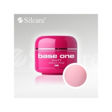 Gel UV Color Base One 5 g Matt cream-pink-08