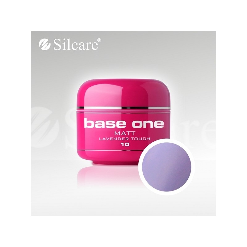 Gel UV Color Base One 5 g Matt lavender-touch-10