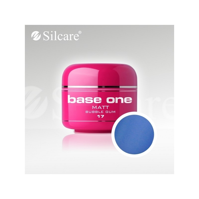 Gel UV Color Base One 5 g Matt bubble-gum-17