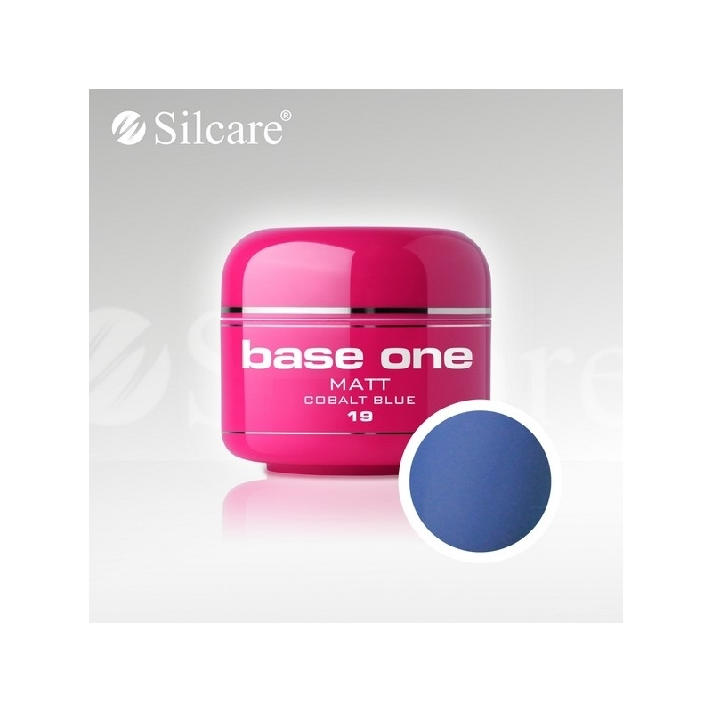 Gel UV Color Base One 5 g Matt cobalt-blue-19