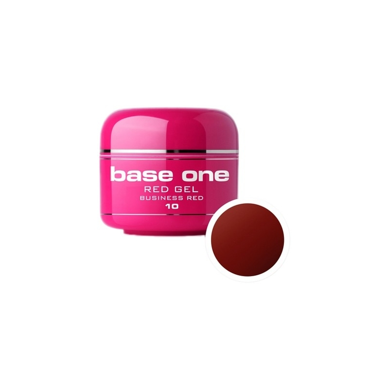 Gel UV Color Base One 5 g Red business-red-10