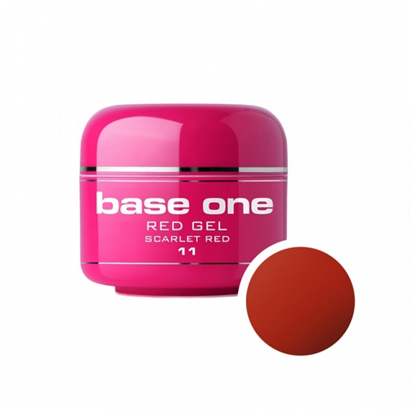 Gel UV Color Base One 5 g Red scarlet-red-11