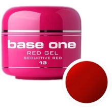 Gel UV Color Base One 5 g Red seductive-red-13