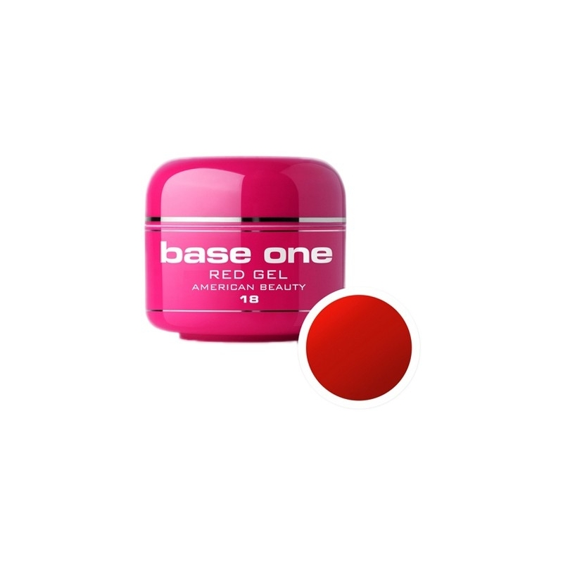 Gel UV Color Base One 5 g Red american-beauty-18
