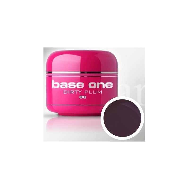 Gel UV Color Base One 5 g Marsal durty-plum-86