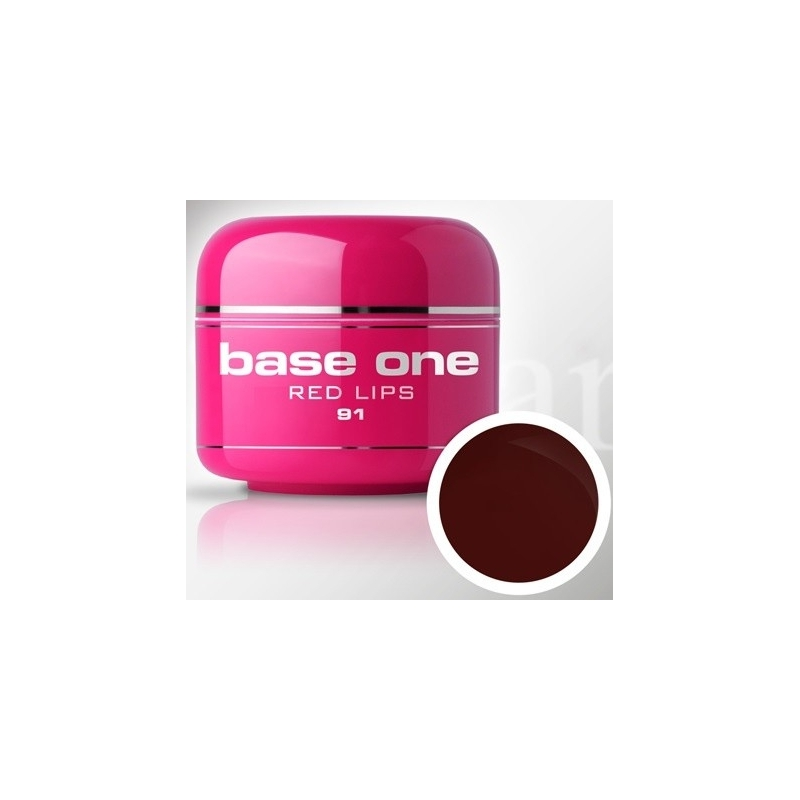 Gel UV Color Base One 5 g Marsal red-lips-91