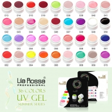 Set geluri color Lila Rossa 36 culori Summer Series