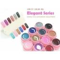 Set geluri color canni 12 culori elegant