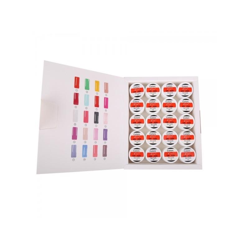 Set geluri color ccn 20 culori neon series