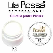Gel UV Pictura Lila Rossa Nr.03