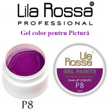 Gel UV Pictura Lila Rossa Nr.08