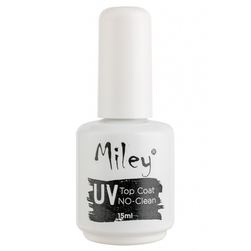 Top Coat UV fara degresare Miley pentru gel 15ml