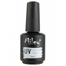 Top Coat UV matt Miley pentru gel 15ml
